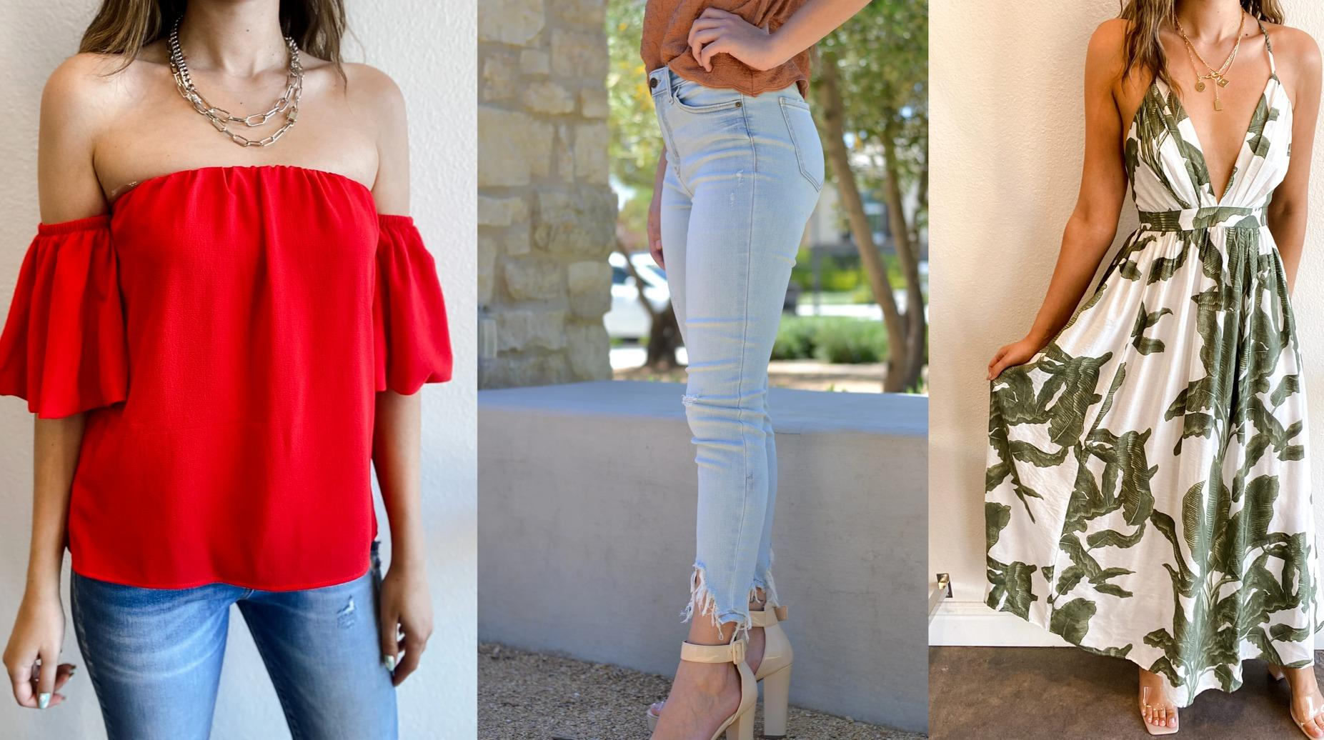 Turn heads with hip women's clothing from Ooh La La in Fresno County