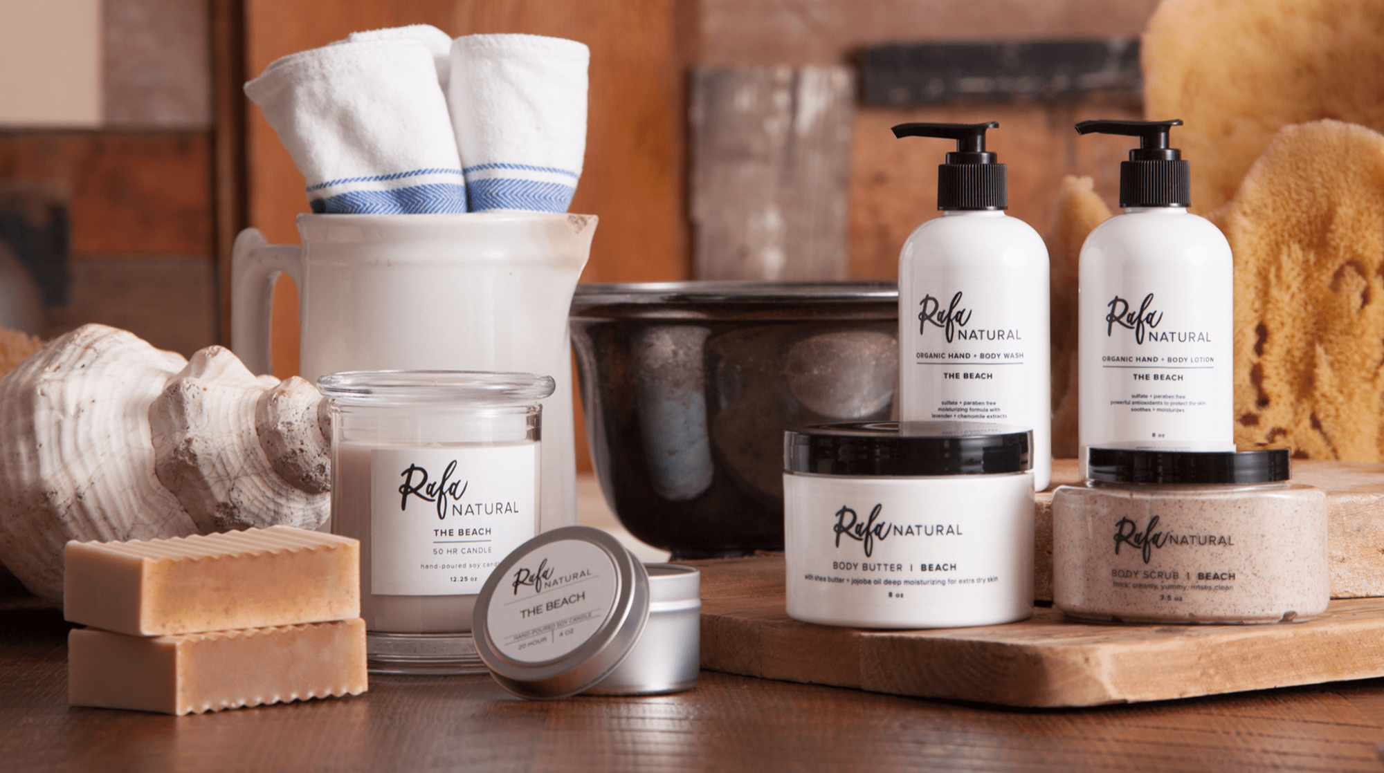 Keep it natural with organic body care in Polk County FL by Rafa Natural