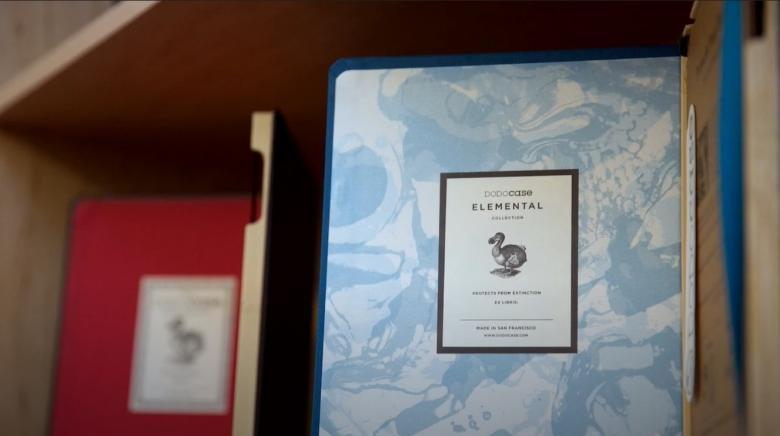 A Beautiful iPad Case Built with Traditional Book Binding