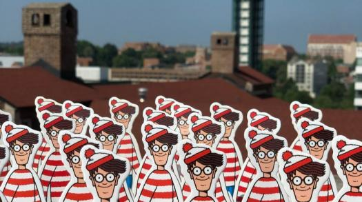 Looking For Waldo In Downtown Knoxville