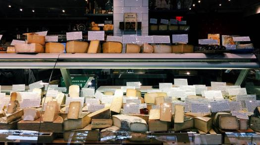 Get your gourmet cheese fix from Bedford Cheese Shop in New York City