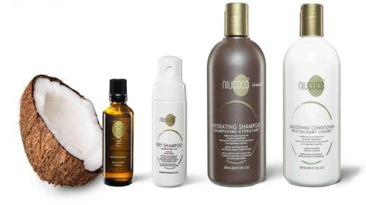 NIUCOCO for chemical-free, non-toxic, organic hair shampoos, conditioners and serums