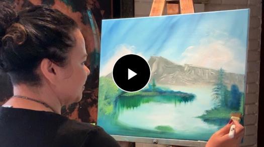 Local San Jose Artist Inspires Psychological Healing through Art Therapy